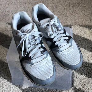 Gray, Black, and White Men's Nike Air Max 90